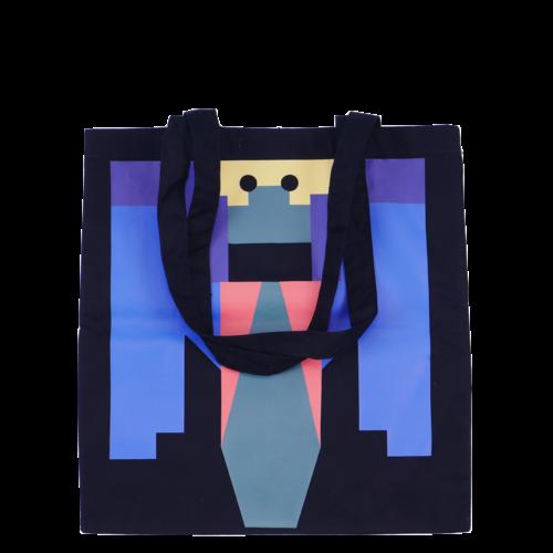 Printed  grasshopper bag