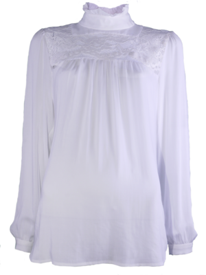 SIS by Spijkers en Spijkers White Boho Blouse