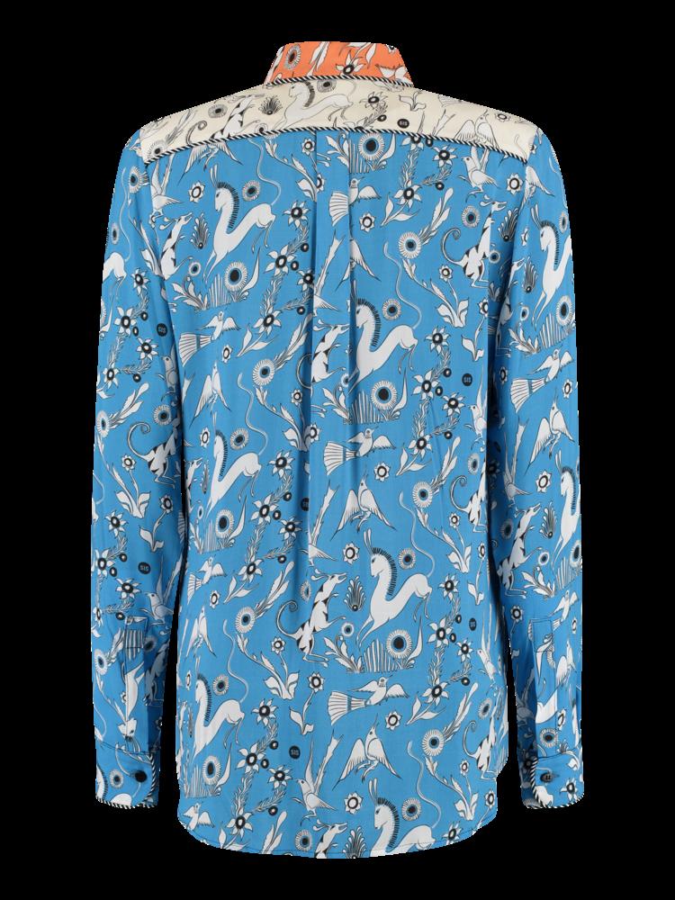 Fancy Blouse blue