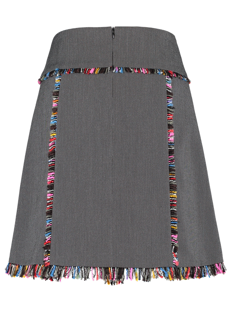 Tweed Skirt short grey