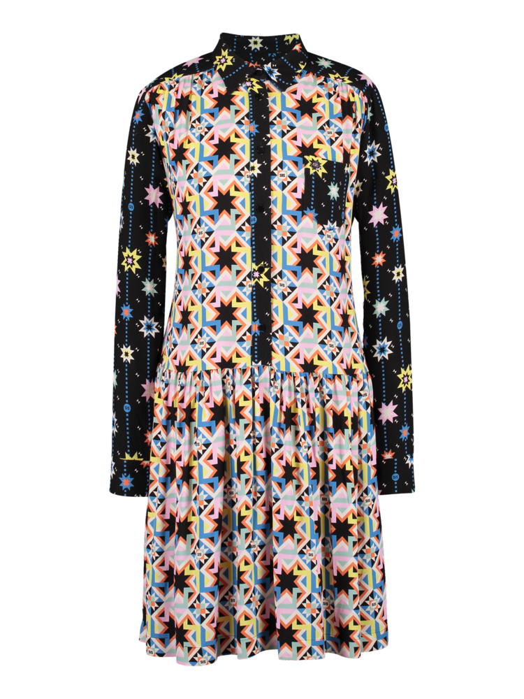 Wide Dress hex star
