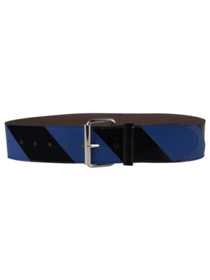 Striped Belt Big Blue/Black
