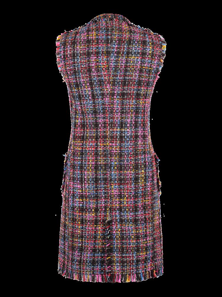Robe Manteau multicolor