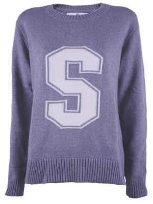 SIS by Spijkers en Spijkers Jumper Grey/White with S