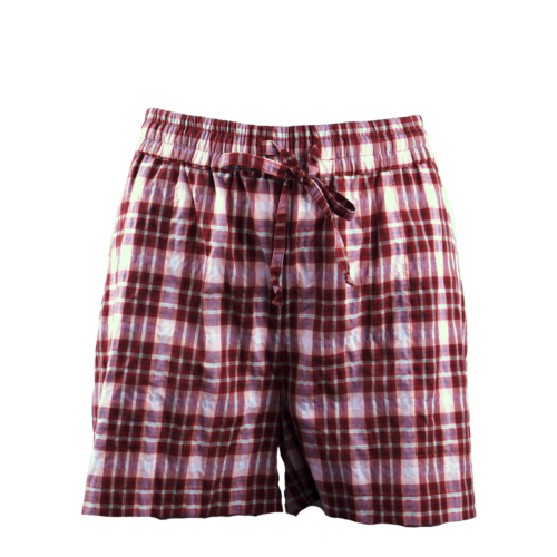 Tape Shorts brown/white