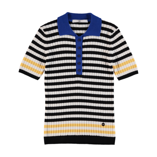 Polo Knit Stripe