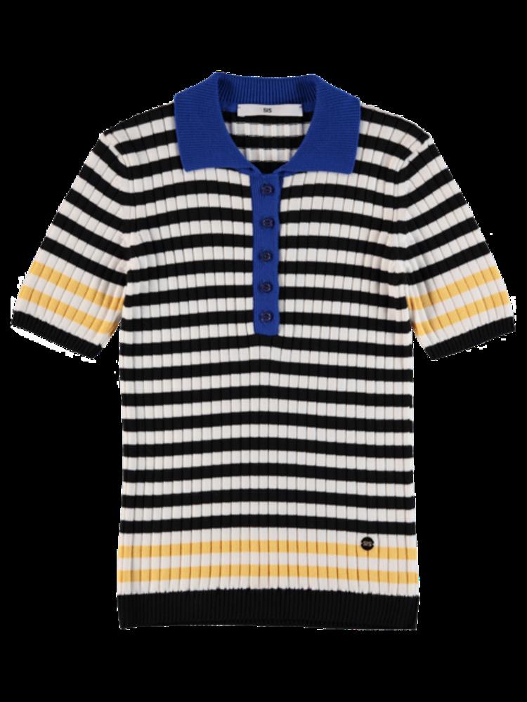 Polo Knit Stripe
