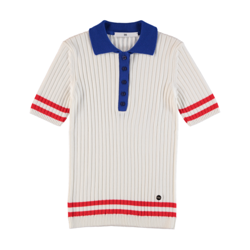 Polo Knit White