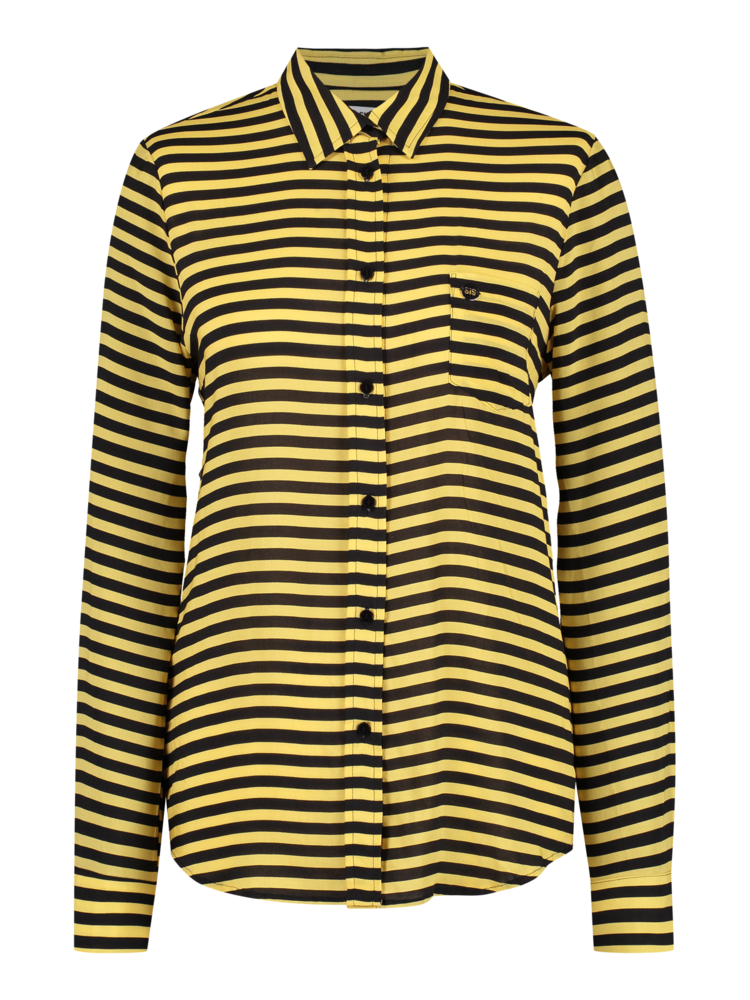 Blouse Yellow Stripe