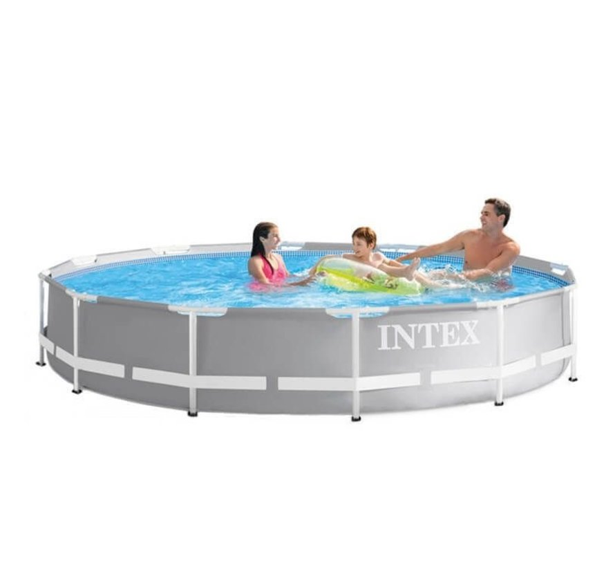 Intex Prism Frame zwembad 366x76 cm. zonder pomp