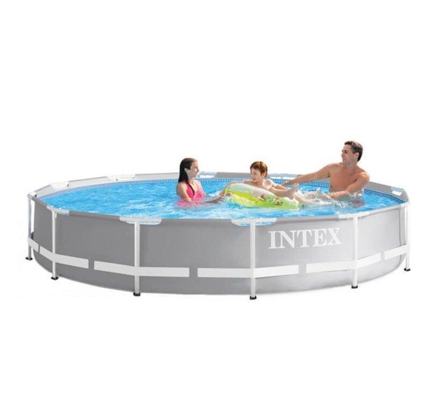 Intex Prism Frame zwembad 305x76 cm  met cartridge filterpomp
