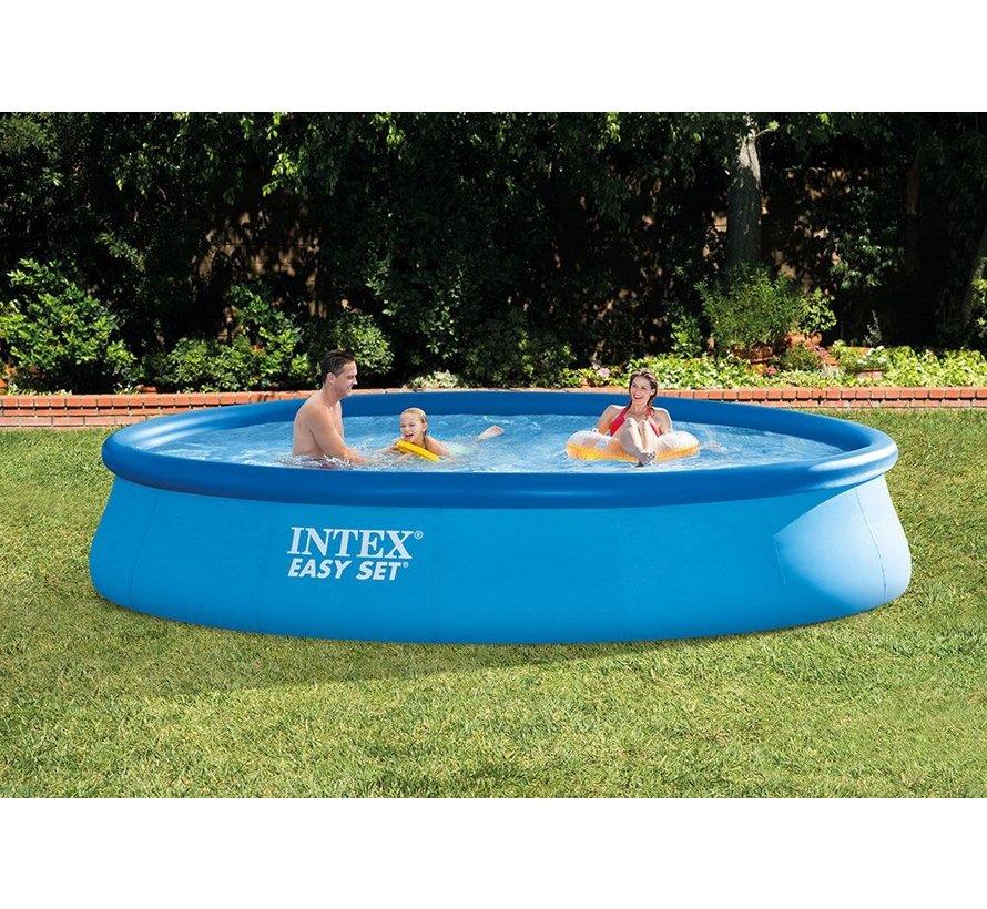 Intex Easy Set zwembad 457x84 met cartridge pomp