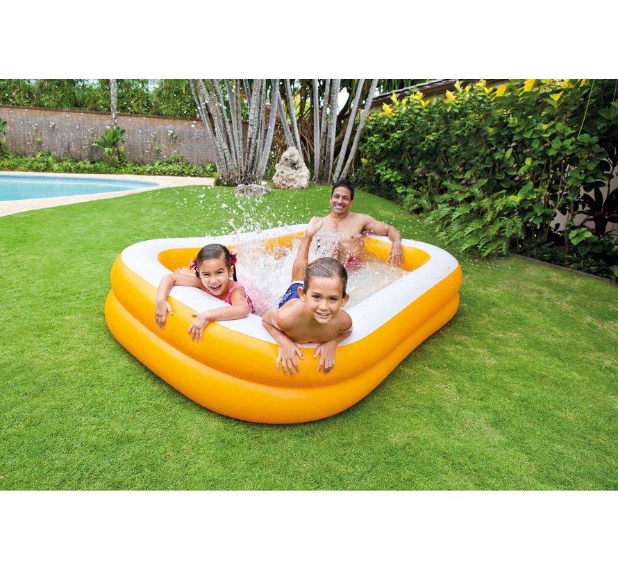 Intex opblaasbaar zwembad 'Family Pool Mandarin'