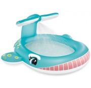 Intex Walvis zwembad met watersproeier