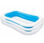 Intex Opblaasbaar familie zwembad blauw