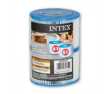 Intex FILTER CARTRIDGE S1 TWIN PACK  Shrink Wrap w Litho
