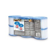 Intex FILTER CARTRIDGE S1 SIX PACK  Shrink Wrap w Litho