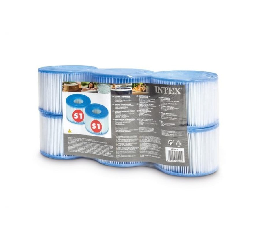 FILTER CARTRIDGE S1 SIX PACK  Shrink Wrap w Litho