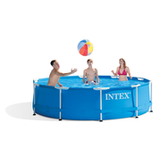 Intex Intex Metal Frame zwembad 305x76 cm met filterpomp