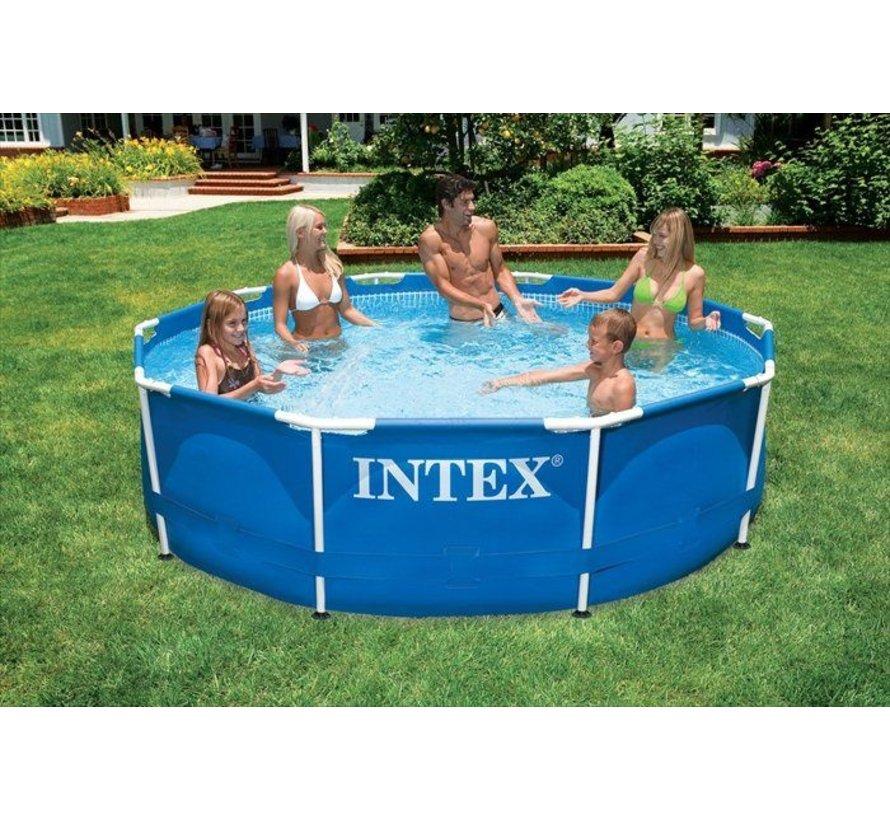 Intex Metal Frame zwembad 305x76 cm zonder filterpomp