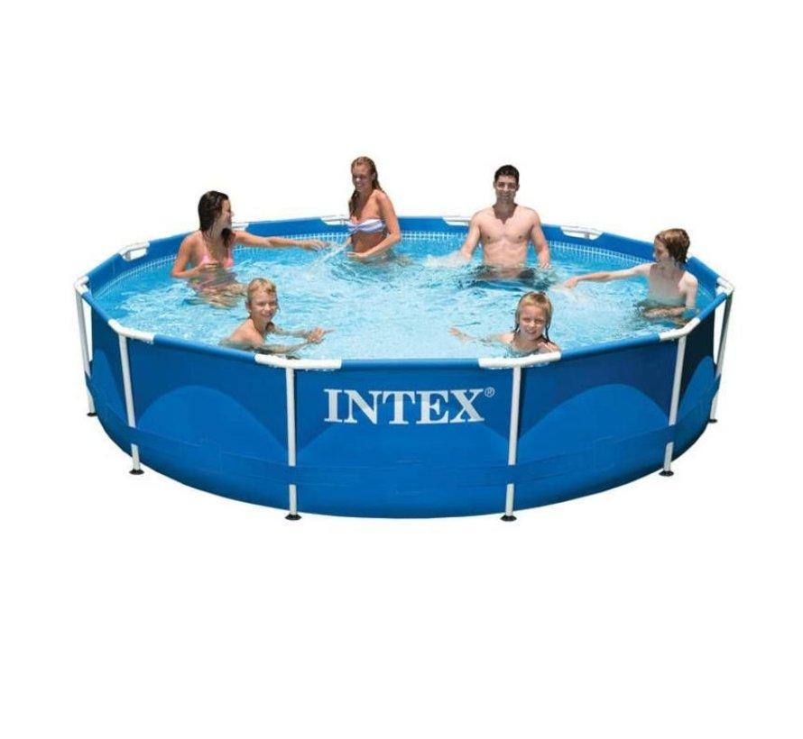Intex Metal Frame zwembad 366x76 cm zonder filterpomp