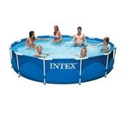 Intex Intex Metal Frame zwembad 366x76 cm met filterpomp