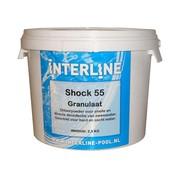 Interline Shock 55 chloorgranulaat 25 kg