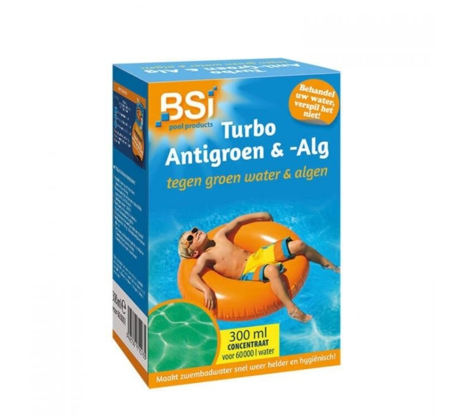 Turbo Anti-Groen & Alg 300 ml