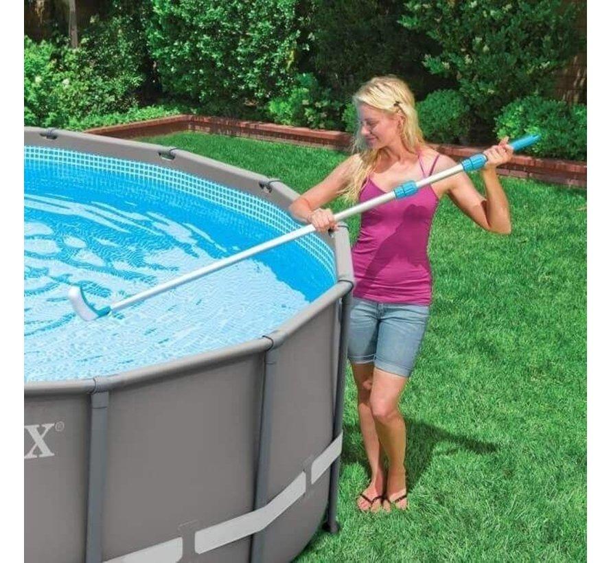 Intex zwembad schoonmaakborstel gebogen