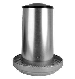 Drink/ Voerbakken Voersilo  zink 40 kg - 1 Stuks