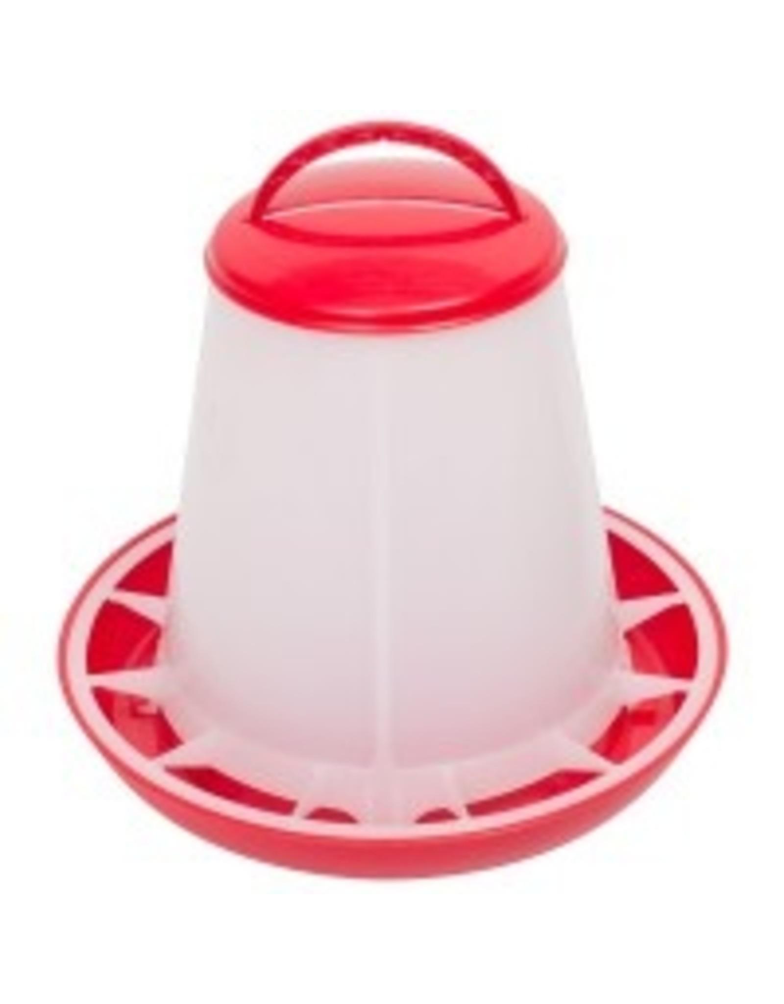 Drink/ Voerbakken voerbak plastic 10kg - 1 Stuks