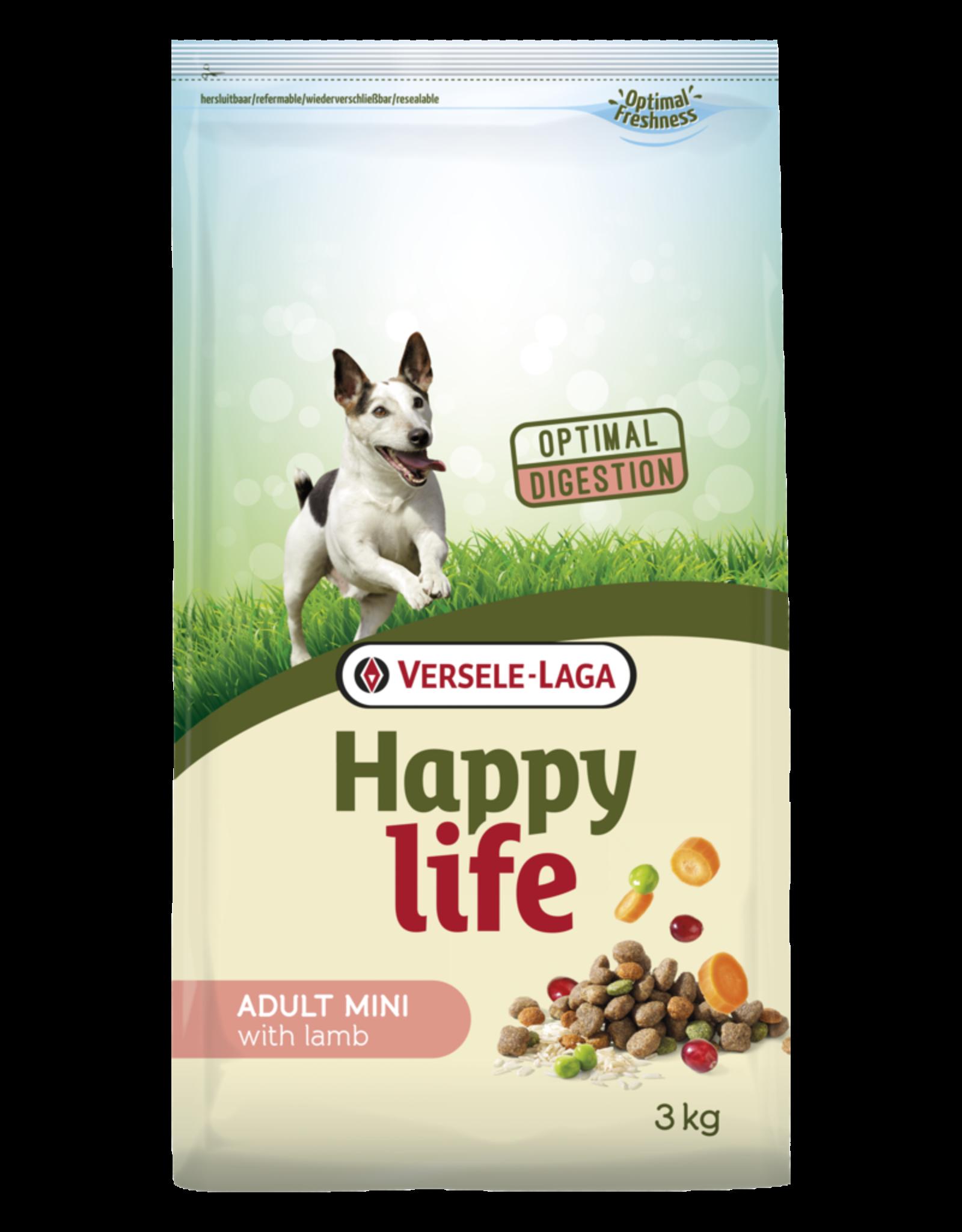 Versele laga happy life adult mini lamb - 3 KG