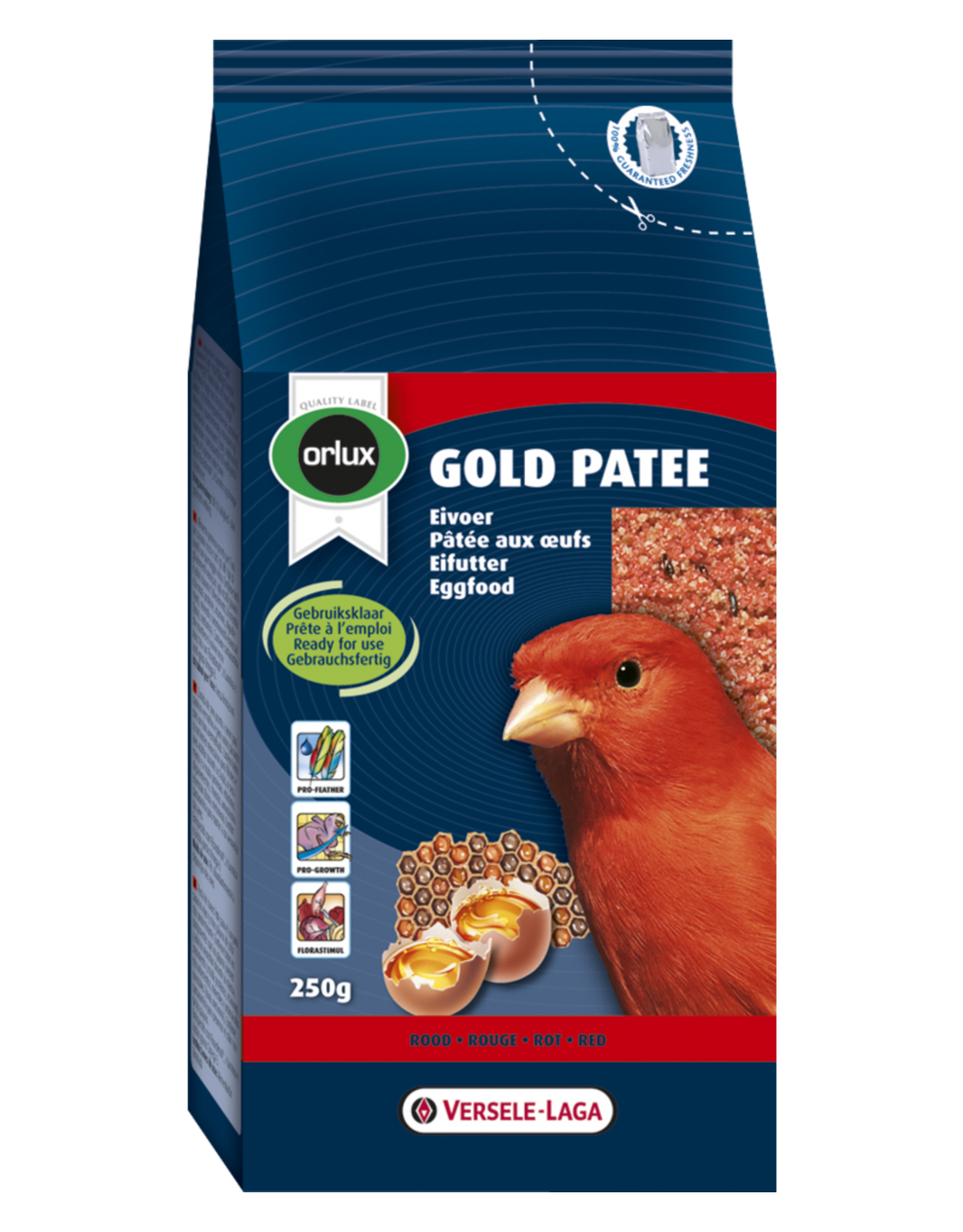 Orlux Gold patee rood profi - 25 KG