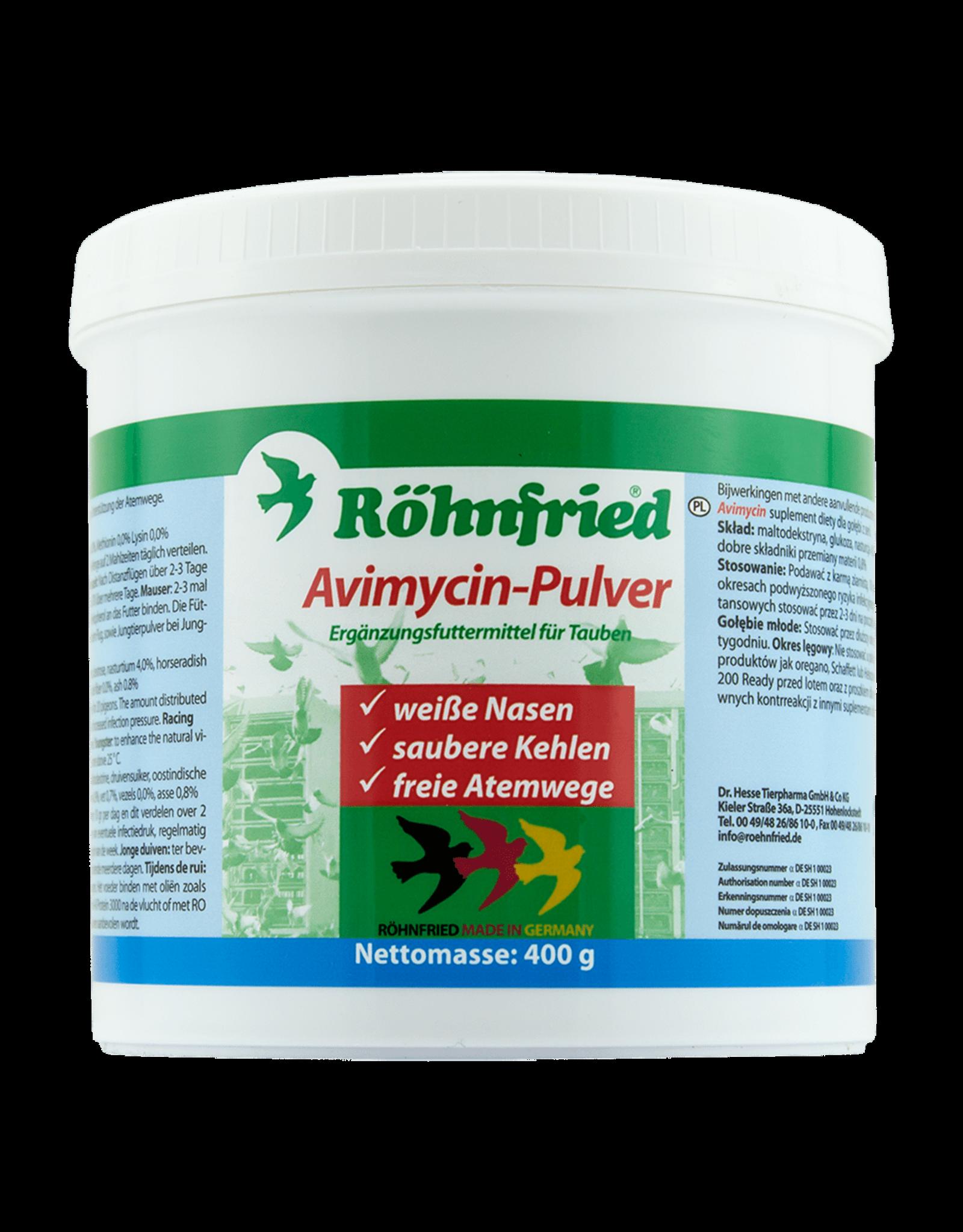 Röhnfried Avimycin pulver - 400 Gram