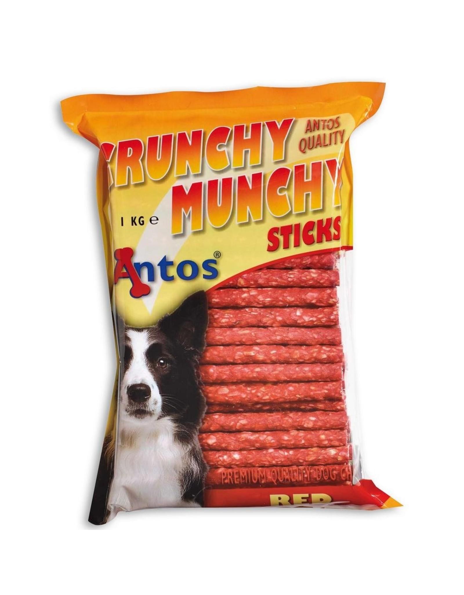 Antos Munchy Stick Rood - 1 KG