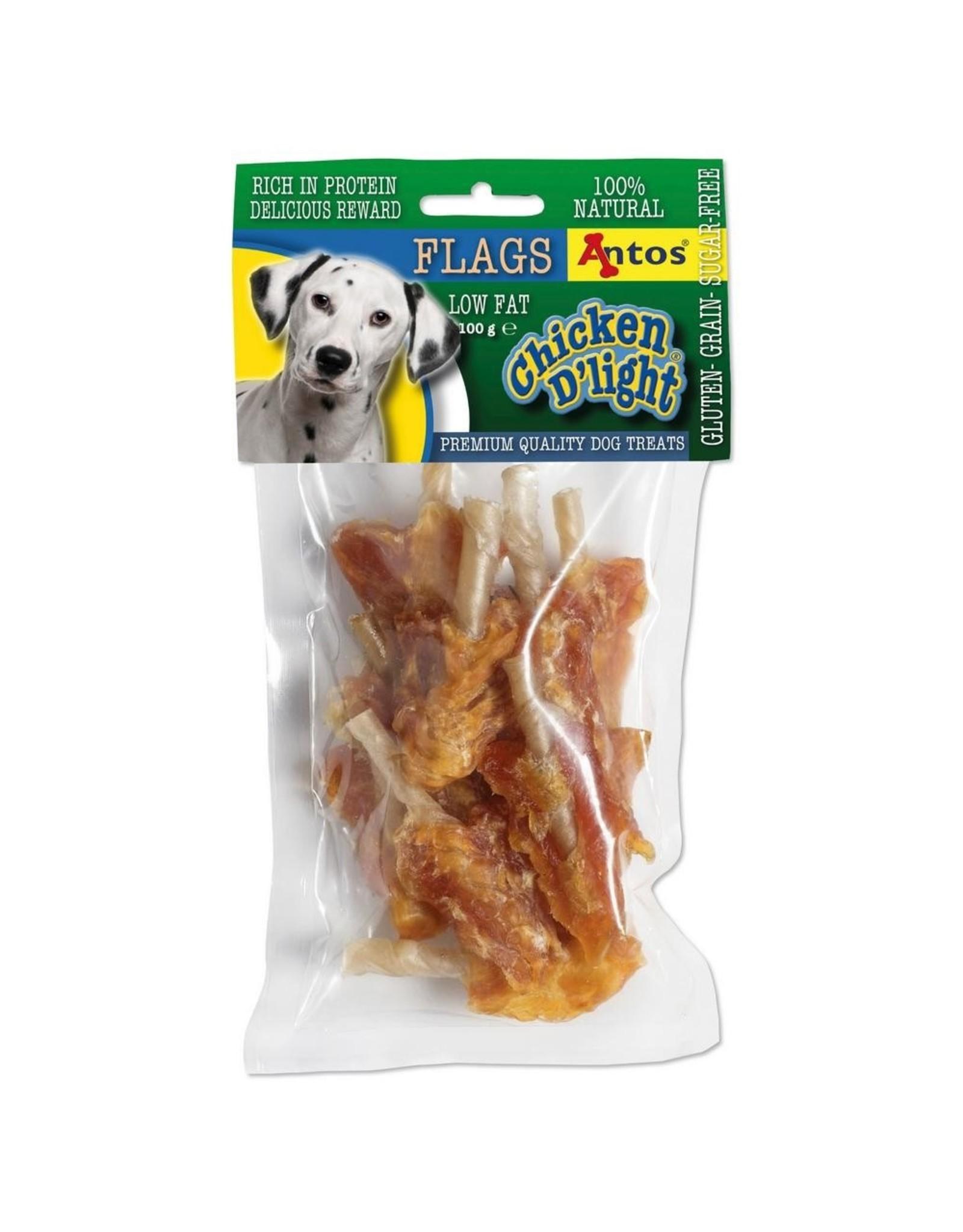 Antos Chicken D'light Flags - 100 Gram