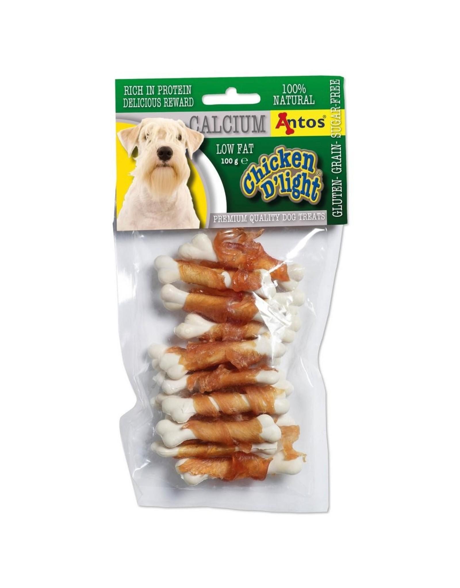Antos Chicken D'light Calcium - 100 Gram