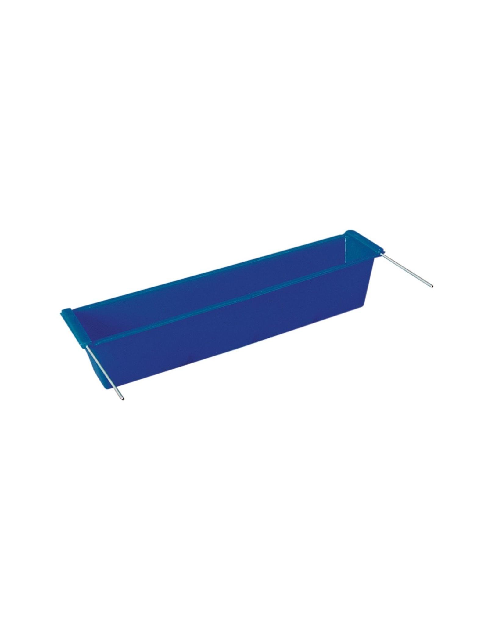 Drink/ Voerbakken Drinkbak Mand Blauw - 1 Stuks