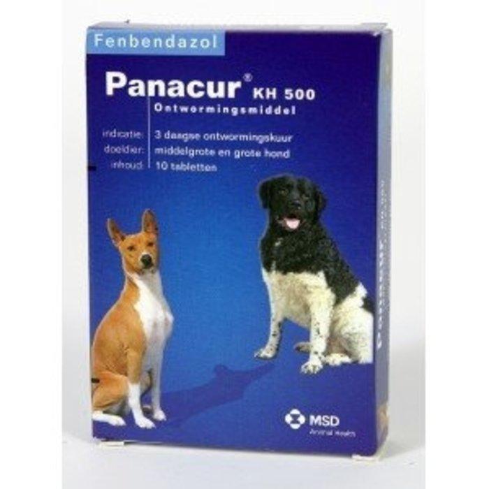 Panacur PANACUR 500 ONTWORMINGSMIDDEL VOOR MIDDELGROTE EN GROTE HONDEN