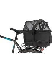 Trixie Trixie fietsmand bagage drager smal zwart