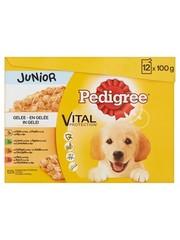 Pedigree Pedigree multipack maaltijdzakjes junior in gelei
