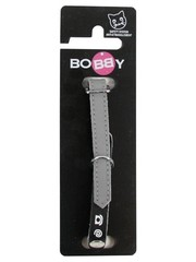 Bobby Bobby kattenhalsband adres grijs