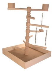 Trixie Trixie speelplaats hout voor agapornis en parkiet