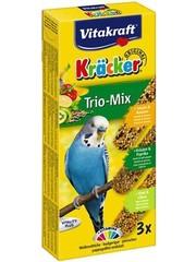 Vitakraft Vitakraft parkiet kracker vijgen/banaan-sesam/kiwi