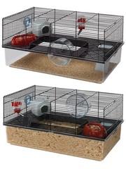 Ferplast Ferplast hamsterkooi favola zwart
