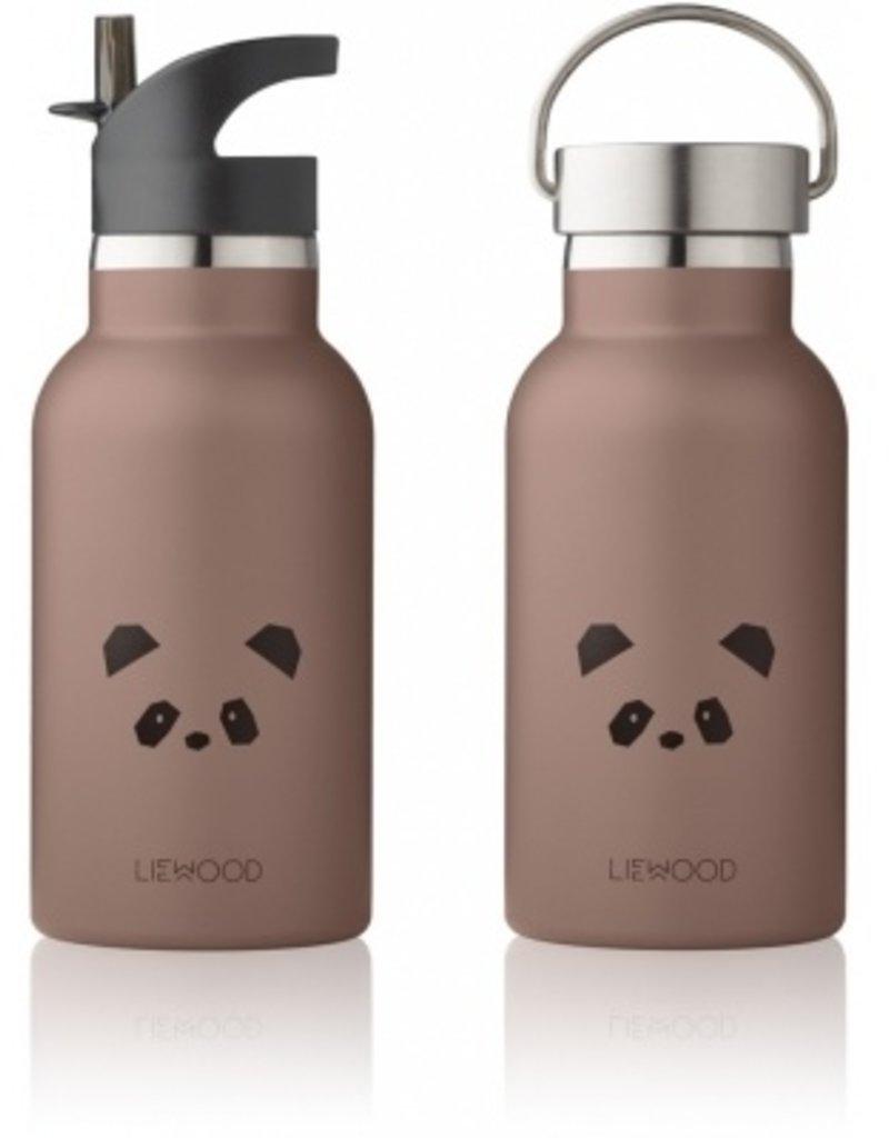 Liewood Drinkfles Panda dark rose