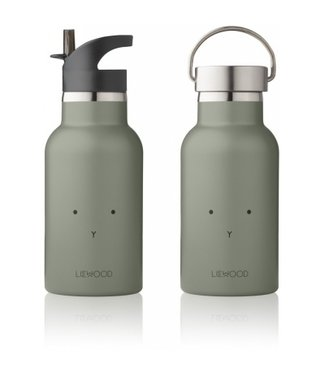 Liewood Drinkfles Rabbit fauna green