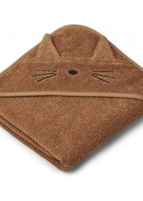 Liewood Badcape Cat terracotta