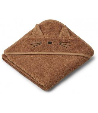 Liewood Badcape Cat terracotta