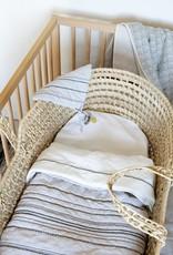 Home by Door Organic blanket Off-white